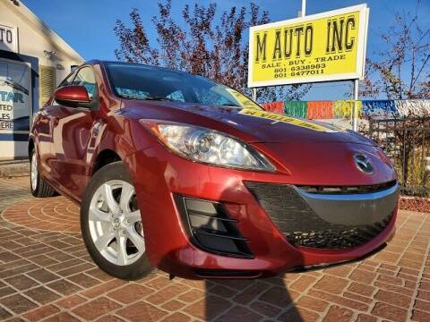 2010 Mazda MAZDA3 for sale at M AUTO, INC in Millcreek UT