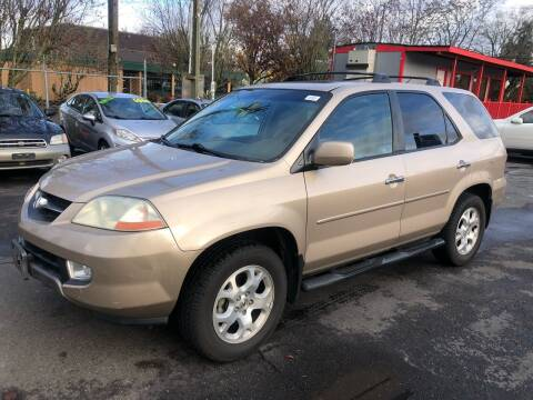 2001 Acura MDX for sale at Blue Line Auto Group in Portland OR