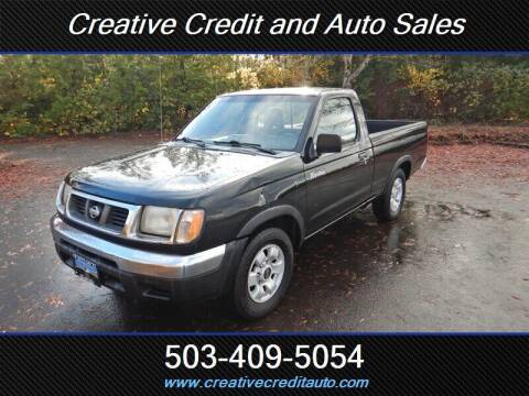 1998 Nissan Frontier for sale at Creative Credit & Auto Sales in Salem OR
