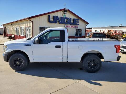"2016 Ford F-150 for sale at UNIQUE AUTOMOTIVE ""BE UNIQUE"" in Garden City KS"