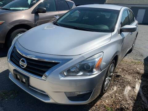 2013 Nissan Altima for sale at Better Auto in South Darthmouth MA