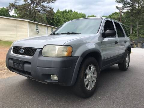 2002 Ford Escape for sale at ATLANTA AUTO WAY in Duluth GA