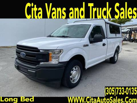 2019 Ford F-150 for sale at Cita Auto Sales in Medley FL