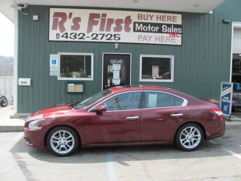 2009 Nissan Maxima for sale at R's First Motor Sales Inc in Cambridge OH