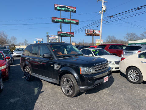 2010 Land Rover Range Rover Sport for sale at Boardman Auto Mall in Boardman OH