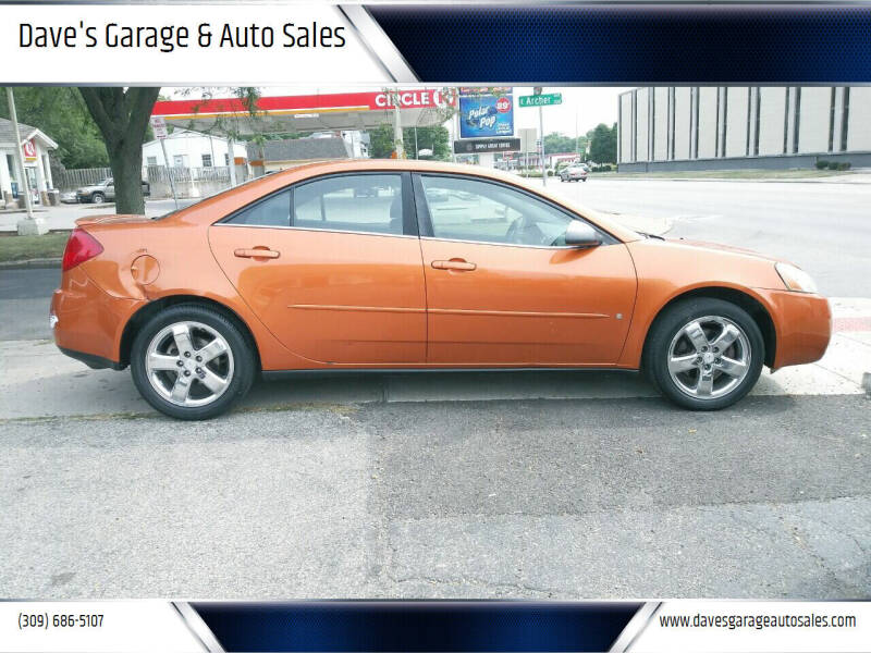 2006 Pontiac G6 for sale at Dave's Garage & Auto Sales in East Peoria IL