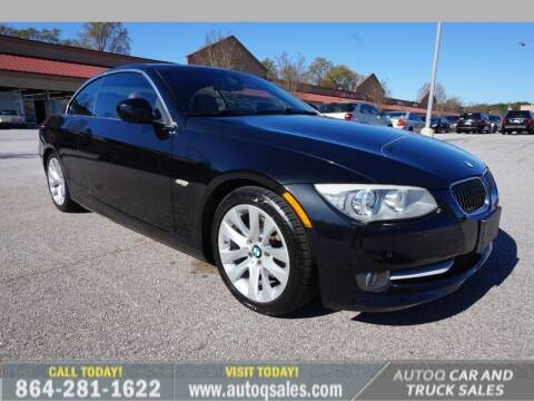 2013 BMW 3 Series for sale at Auto Q Car and Truck Sales in Mauldin SC