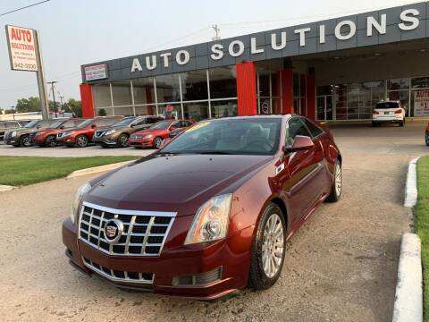 2014 Cadillac CTS for sale at Auto Solutions in Warr Acres OK