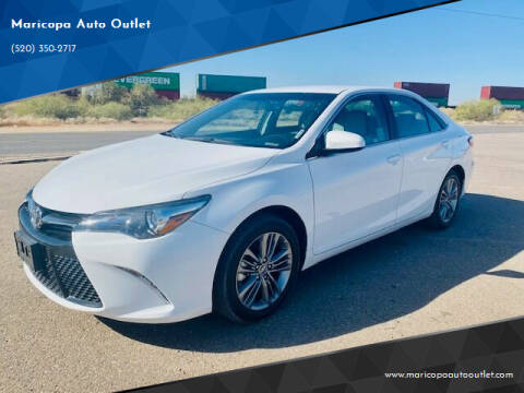 2016 Toyota Camry for sale at Maricopa Auto Outlet in Maricopa AZ