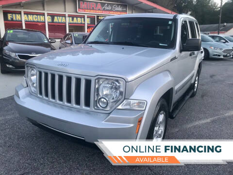2012 Jeep Liberty for sale at Mira Auto Sales in Raleigh NC