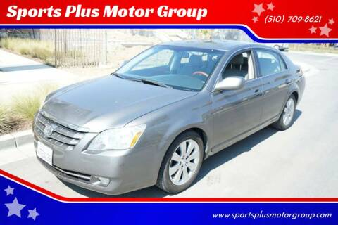 2007 Toyota Avalon for sale at Sports Plus Motor Group LLC in Sunnyvale CA