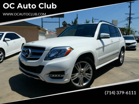 2013 Mercedes-Benz GLK for sale at OC Auto Club in Midway City CA