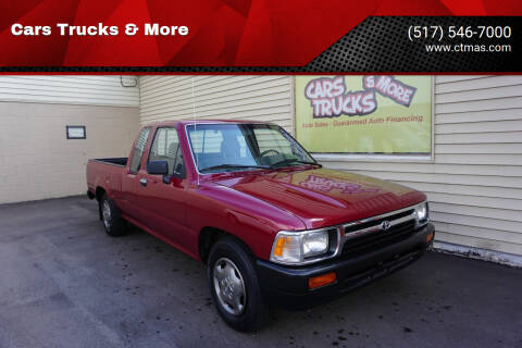 1992 Toyota Pickup for sale at Cars Trucks & More in Howell MI