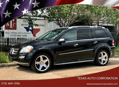 2009 Mercedes-Benz GL-Class for sale at Texas Auto Corporation in Houston TX