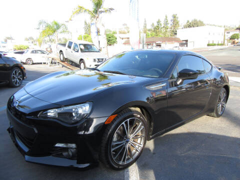 2016 Subaru BRZ for sale at Eagle Auto in La Mesa CA