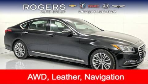 2017 Genesis G80 for sale at ROGERS  AUTO  GROUP in Chicago IL