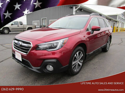 2018 Subaru Outback for sale at Lifetime Auto Sales and Service in West Bend WI