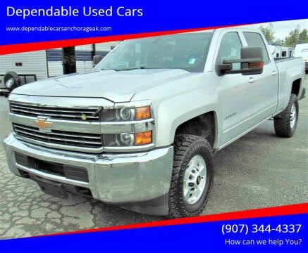 2015 Chevrolet Silverado 2500HD for sale at Dependable Used Cars in Anchorage AK