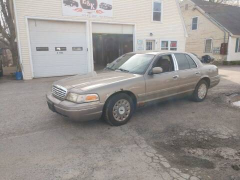 2003 Ford Crown Victoria for sale at E & K Automotive in Derry NH