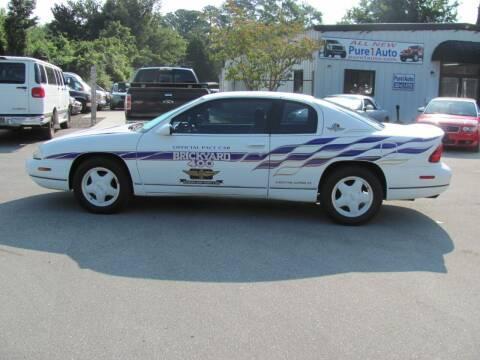 1995 Chevrolet Monte Carlo for sale at Pure 1 Auto in New Bern NC