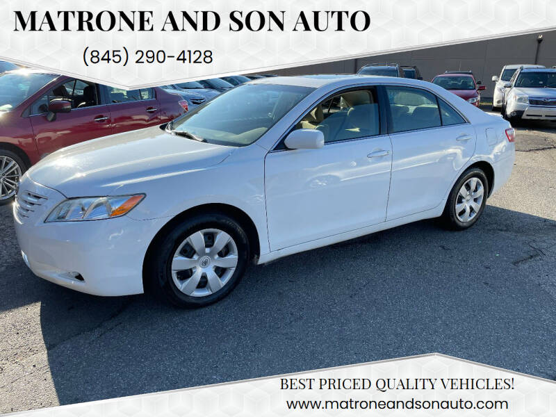 2007 Toyota Camry for sale at Matrone and Son Auto in Tallman NY