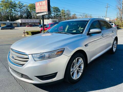 2013 Ford Taurus for sale at A & M Auto Sales, Inc in Alabaster AL