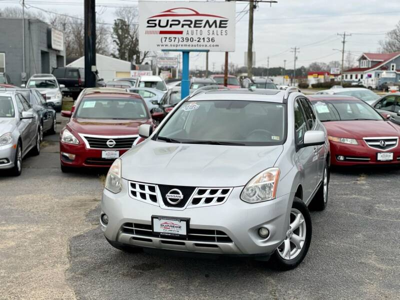 2011 Nissan Rogue for sale at Supreme Auto Sales in Chesapeake VA