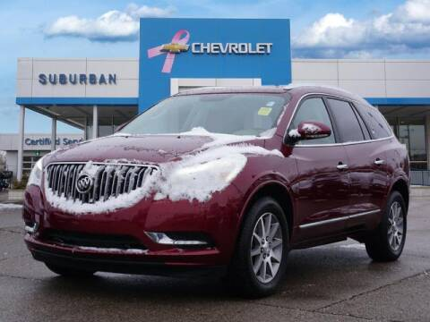2017 Buick Enclave for sale at Suburban Chevrolet of Ann Arbor in Ann Arbor MI