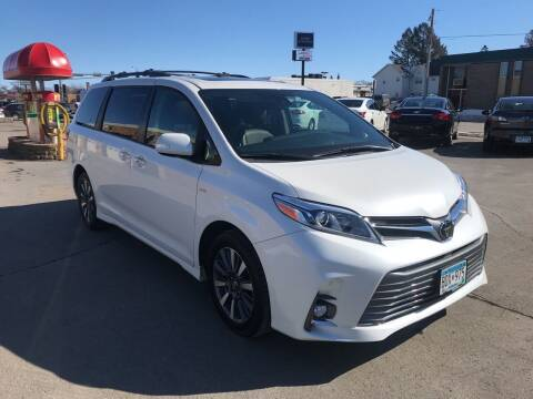 2018 Toyota Sienna for sale at Carney Auto Sales in Austin MN