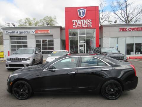 2013 Cadillac ATS for sale at Twins Auto Sales Inc in Detroit MI