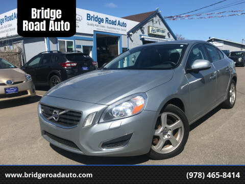 2013 Volvo S60 for sale at Bridge Road Auto in Salisbury MA