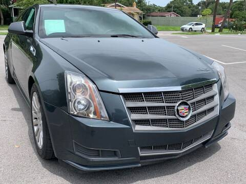 2011 Cadillac CTS for sale at Consumer Auto Credit in Tampa FL