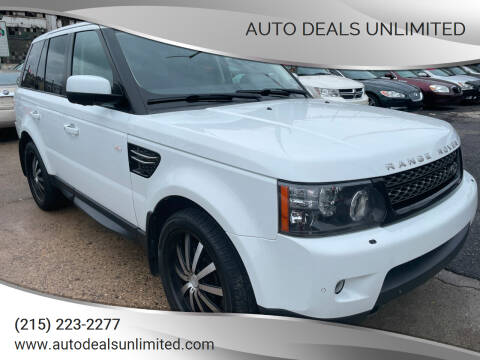 2013 Land Rover Range Rover Sport for sale at AUTO DEALS UNLIMITED in Philadelphia PA