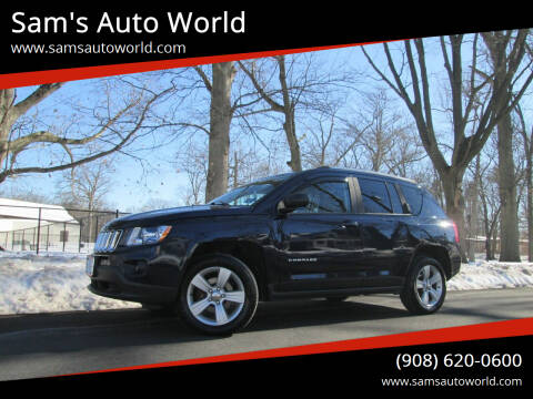 2013 Jeep Compass for sale at Sam's Auto World in Roselle NJ