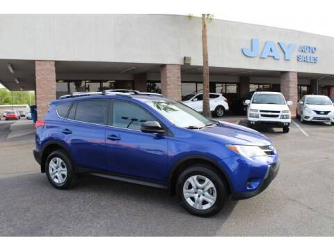 2015 Toyota RAV4 for sale at Jay Auto Sales in Tucson AZ