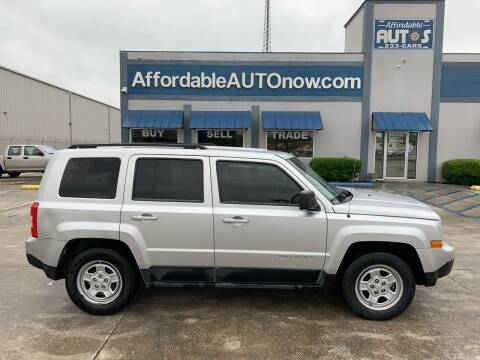 2011 Jeep Patriot for sale at Affordable Autos II in Houma LA