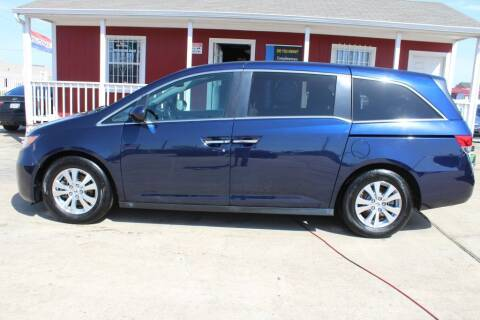 2017 Honda Odyssey for sale at AMT AUTO SALES LLC in Houston TX