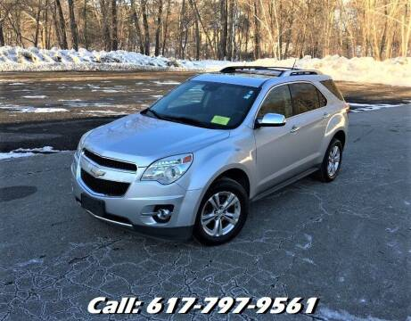 2013 Chevrolet Equinox for sale at Wheeler Dealer Inc. in Acton MA
