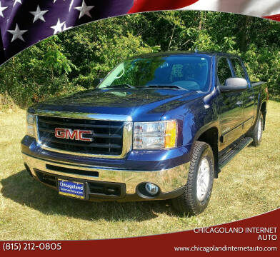 2011 GMC Sierra 1500 for sale at Chicagoland Internet Auto - 410 N Vine St New Lenox IL, 60451 in New Lenox IL
