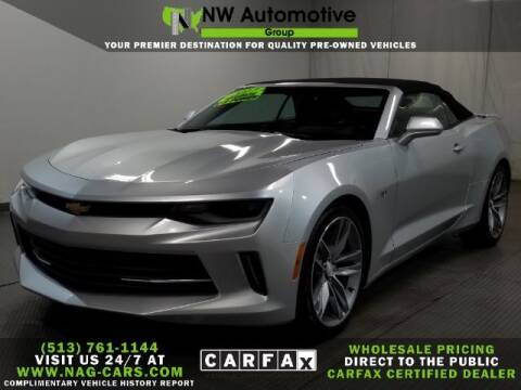 2017 Chevrolet Camaro for sale at NW Automotive Group in Cincinnati OH