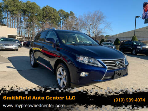 2013 Lexus RX 350 for sale at Smithfield Auto Center LLC in Smithfield NC