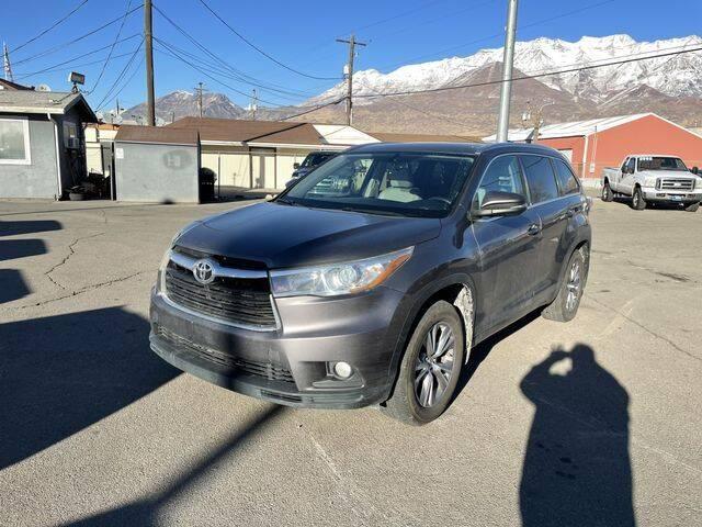 2015 Toyota Highlander for sale at Orem Auto Outlet in Orem UT