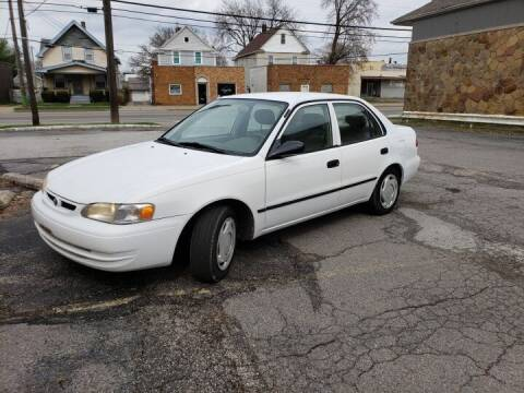 1998 Toyota Corolla for sale at USA AUTO WHOLESALE LLC in Cleveland OH