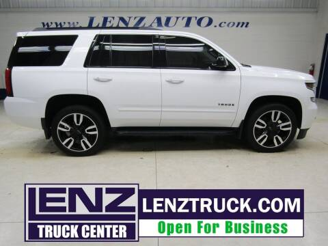 2019 Chevrolet Tahoe for sale at LENZ TRUCK CENTER in Fond Du Lac WI