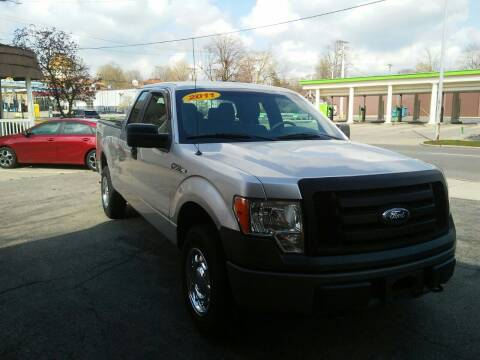 2011 Ford F-150 for sale at BELLEFONTAINE MOTOR SALES in Bellefontaine OH