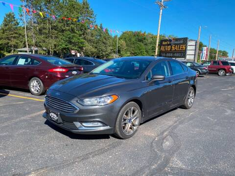 2017 Ford Fusion for sale at Affordable Auto Sales in Webster WI