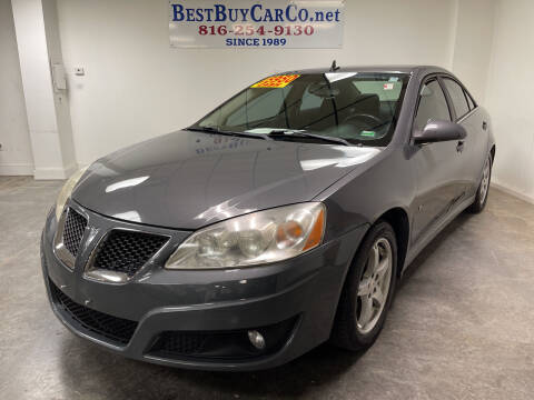 2009 Pontiac G6 for sale at Best Buy Car Co in Independence MO