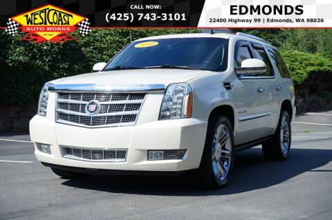 2010 Cadillac Escalade for sale at West Coast Auto Works in Edmonds WA