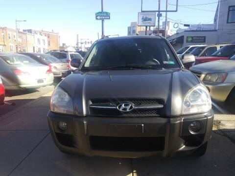 2007 Hyundai Tucson for sale at K J AUTO SALES in Philadelphia PA