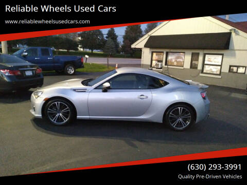 2014 Subaru BRZ for sale at Reliable Wheels Used Cars in West Chicago IL